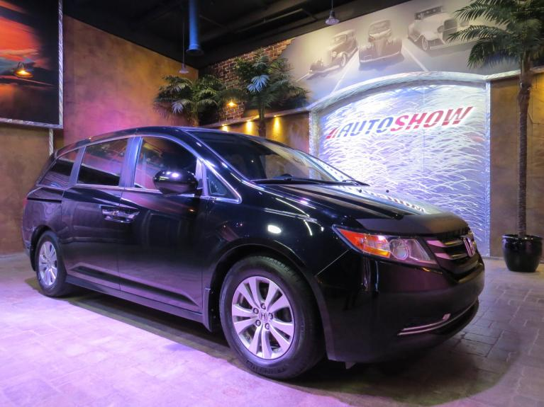 Used 2014 Honda Odyssey EX-L + Nav, DVD, S.Roof, Htd Lthr!! for sale $29,800 at Auto Show Sales and Finance in Winnipeg MB R3Y 1G5 2