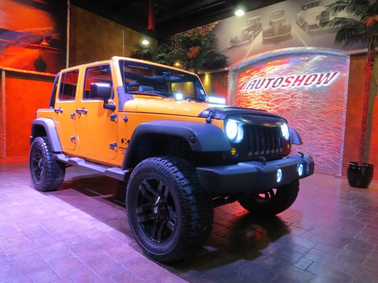 Used 2008 Jeep Wrangler Unlimited Unlimited - Huge Lift!  Fully Custom!! for sale $19,800 at Auto Show Sales and Finance in Winnipeg MB R3Y 1G5 2