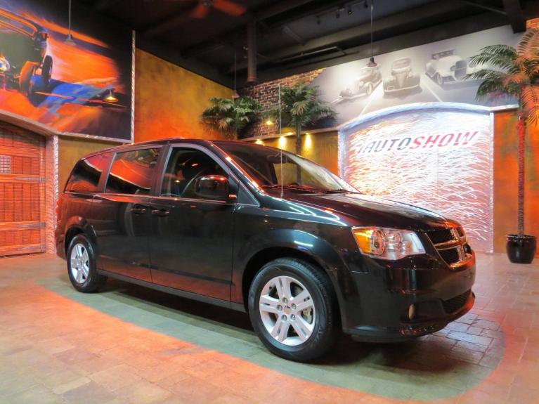 Used 2018 Dodge Grand Caravan Crew+ Pwr Sldrs, Htd Steering & Lthr, Nav!! for sale Sold at Auto Show Sales and Finance in Winnipeg MB R3Y 1G5 2