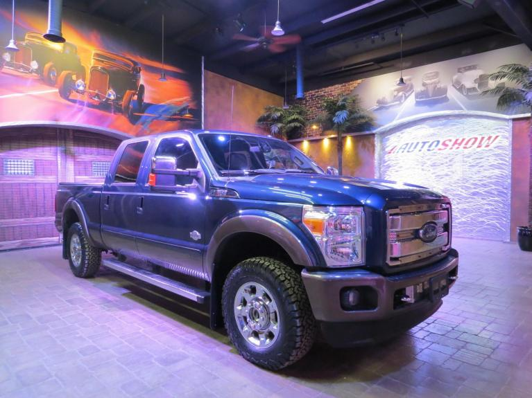 Used 2016 Ford F-250 Super Duty King Ranch Diesel w/ Nav, S.Roof, 5th Wheel!! for sale $56,800 at Auto Show Sales and Finance in Winnipeg MB
