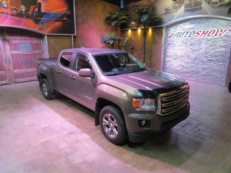Used 2015 GMC Canyon SLE - T.Screen, B.Up Cam, B.Tooth, R.Start! for sale $28,800 at Auto Show Sales and Finance in Winnipeg MB