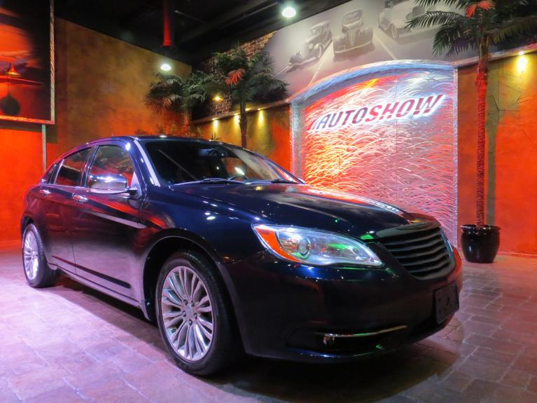 Used 2011 Chrysler 200 Limited - LOW KMS!  Nav & Htd Lthr!! for sale Sold at Auto Show Sales and Finance in Winnipeg MB R3Y 1G5 2