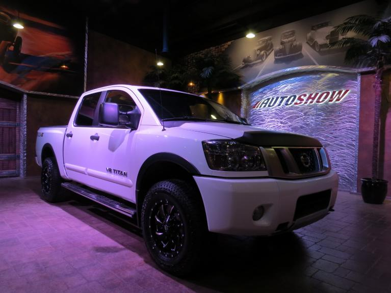 Used 2013 Nissan Titan ** SUPER SHARP  PRO - 4 X!!!  HARD LOADED!! ** for sale $26,600 at Auto Show Sales and Finance in Winnipeg MB R3Y 1G5 2