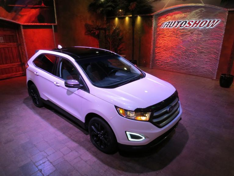 Used 2018 Ford Edge SPORT AWD - Pano Roof, Nav, Htd Seats! for sale $32,800 at Auto Show Sales and Finance in Winnipeg MB