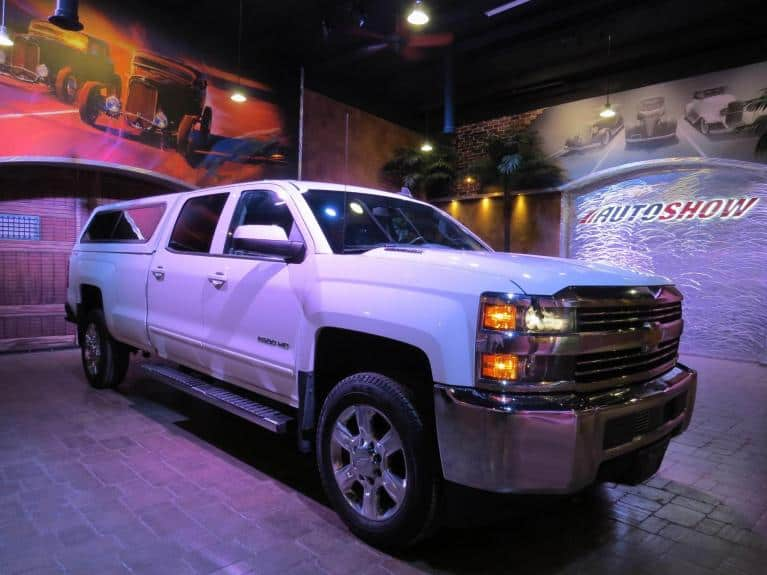 Used 2015 Chevrolet Silverado 2500HD ** LOW K!! LONG BOX DIESEL!! IMMAC!! ** for sale Sold at Auto Show Sales and Finance in Winnipeg MB R3Y 1G5 2