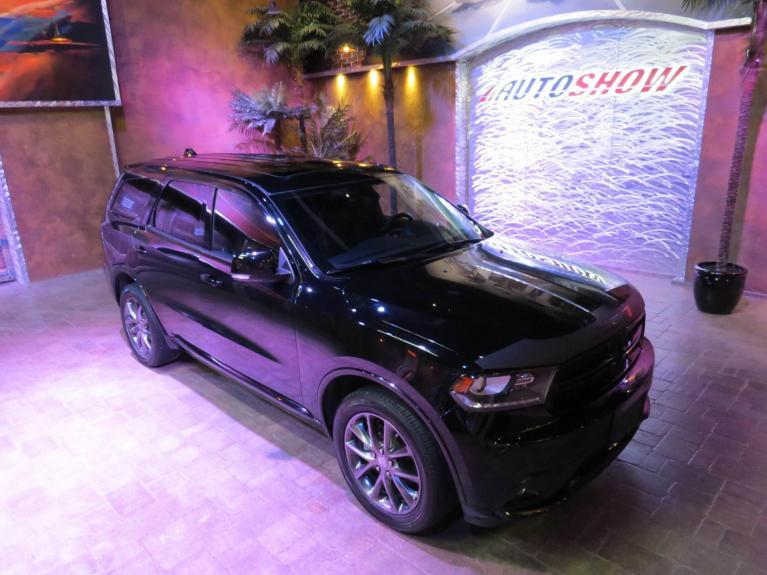 Used 2017 Dodge Durango GT - DVD x2, Nav, R.Start, Htd Lthr!! for sale $36,600 at Auto Show Sales and Finance in Winnipeg MB