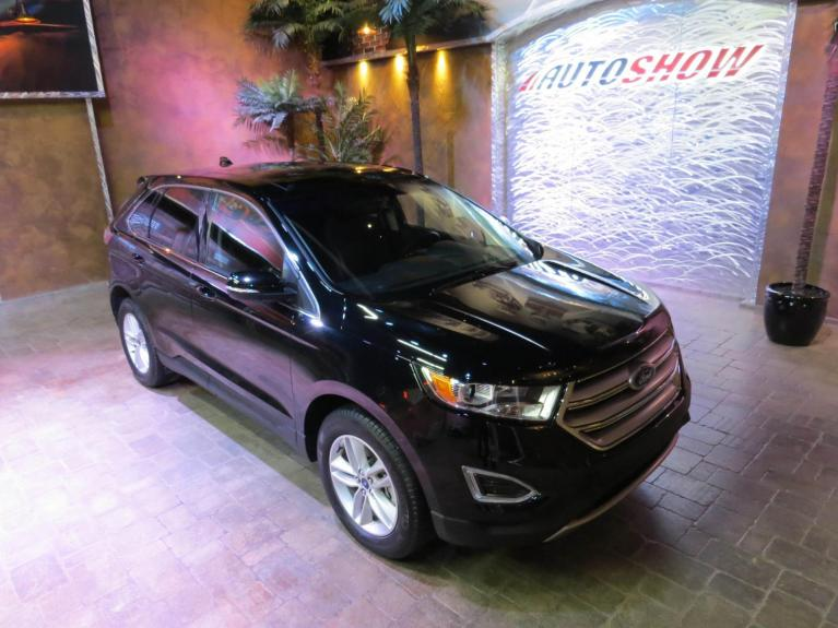 Used 2018 Ford Edge SEL AWD - Pano Roof, Htd Lthr, Navigation! for sale $29,998 at Auto Show Sales and Finance in Winnipeg MB R3Y 1G5 2