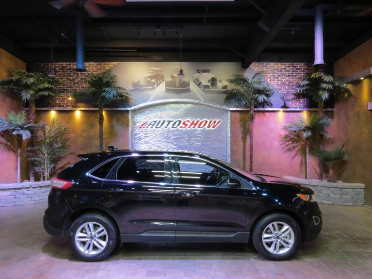 Used 2018 Ford Edge SEL AWD - Pano Roof, Htd Lthr, Navigation! for sale $31,492 at Auto Show Sales and Finance in Winnipeg MB