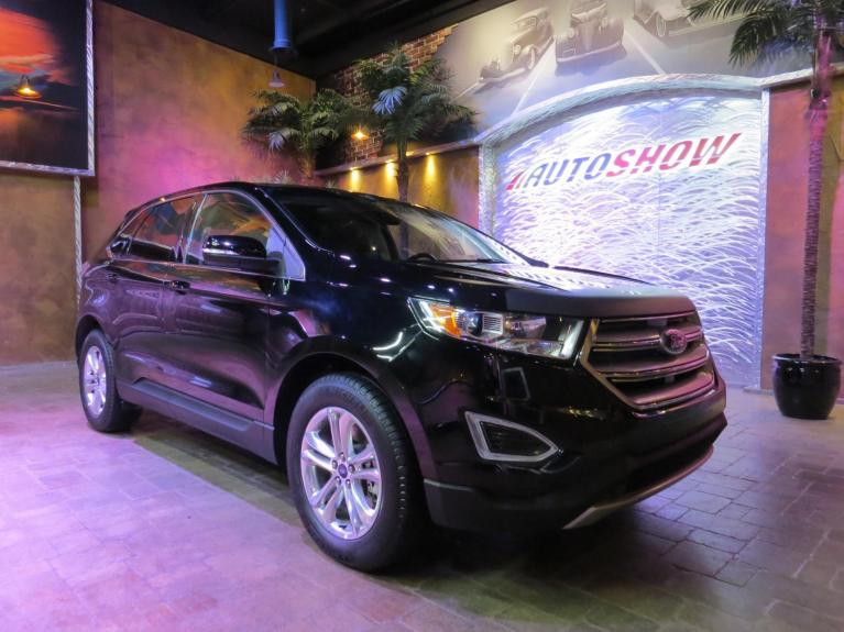Used 2018 Ford Edge SEL AWD - Pano Roof, Nav, Htd Lthr for sale $31,492 at Auto Show Sales and Finance in Winnipeg MB R3Y 1G5 2