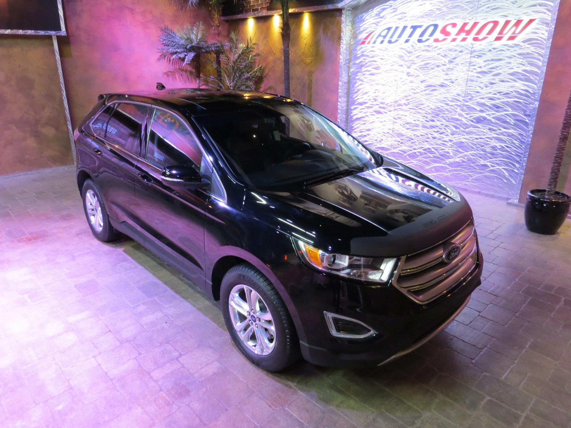 Used 2018 Ford Edge SEL AWD - Pano Roof, Nav, Htd Lthr for sale $31,492 at Auto Show Sales and Finance in Winnipeg MB R3Y 1G5 1