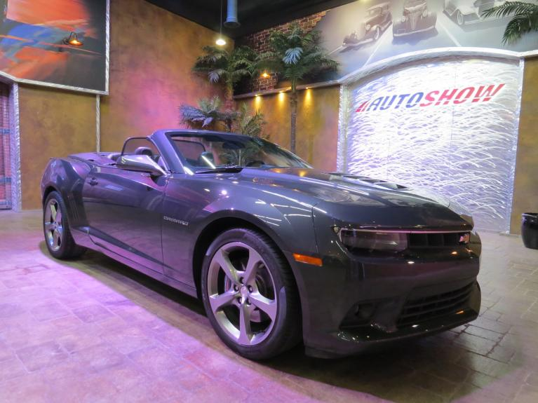 Used 2014 Chevrolet Camaro 2SS Convertible - 6 Spd, Htd Lthr, Nav, LOW K!!! for sale $35,600 at Auto Show Sales and Finance in Winnipeg MB R3Y 1G5 2