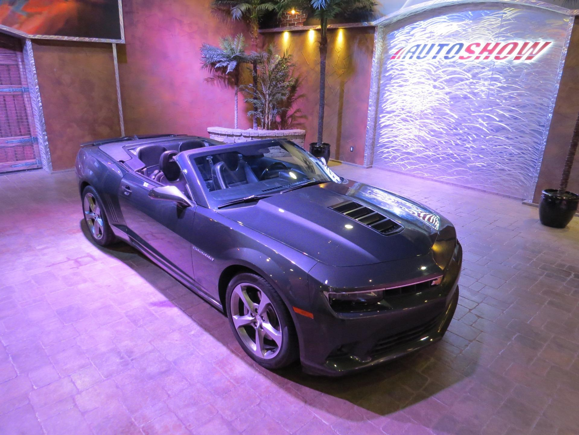Used 2014 Chevrolet Camaro 2SS Convertible - 6 Spd, Htd Lthr, Nav, LOW K!!! for sale $35,600 at Auto Show Sales and Finance in Winnipeg MB R3Y 1G5 1