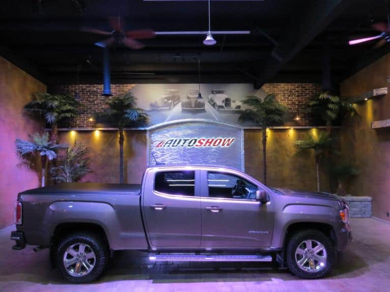 Used 2016 GMC Canyon SLE 4WD - R.Start, Rev. Cam, B.Tooth, Low K!!! for sale $33,600 at Auto Show Sales and Finance in Winnipeg MB R3Y 1G5 2