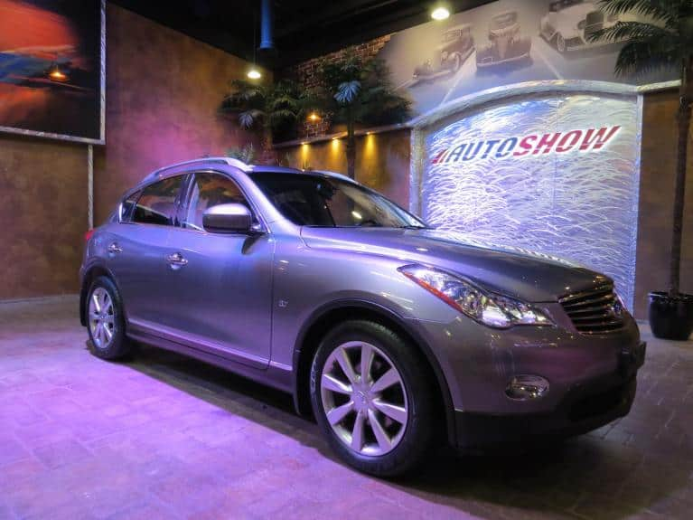 Used 2015 INFINITI QX50 AWD - R.Start, B.Up Cam, S.Roof!! for sale $22,466 at Auto Show Sales and Finance in Winnipeg MB R3Y 1G5 2
