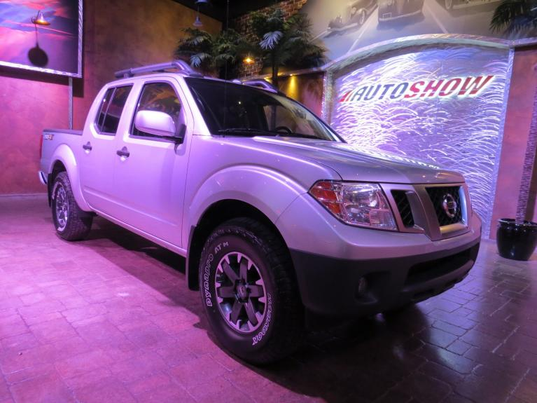 Used 2018 Nissan Frontier ** PRO-4X OFF ROAD!! ** Nav- Pwr Moonroof! for sale $31,600 at Auto Show Sales and Finance in Winnipeg MB R3Y 1G5 2