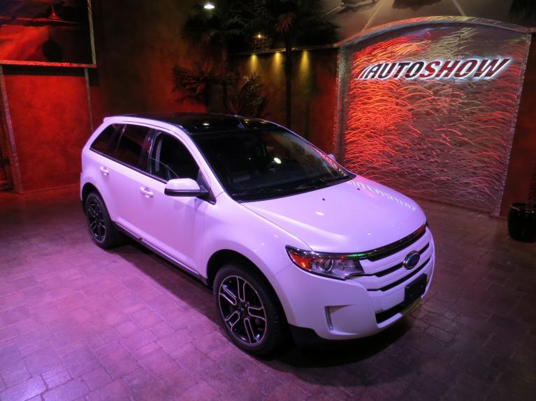 Used 2013 Ford Edge SEL AWD - Pano Roof, Nav, Htd Lthr!! for sale $19,800 at Auto Show Sales and Finance in Winnipeg MB R3Y 1G5 2