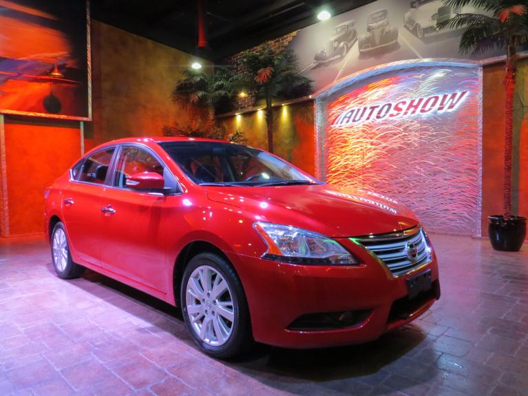 Used 2014 Nissan Sentra SL - Nav, S.Roof, B.Up Cam, Htd Lthr!! for sale $14,998 at Auto Show Sales and Finance in Winnipeg MB R3Y 1G5 2