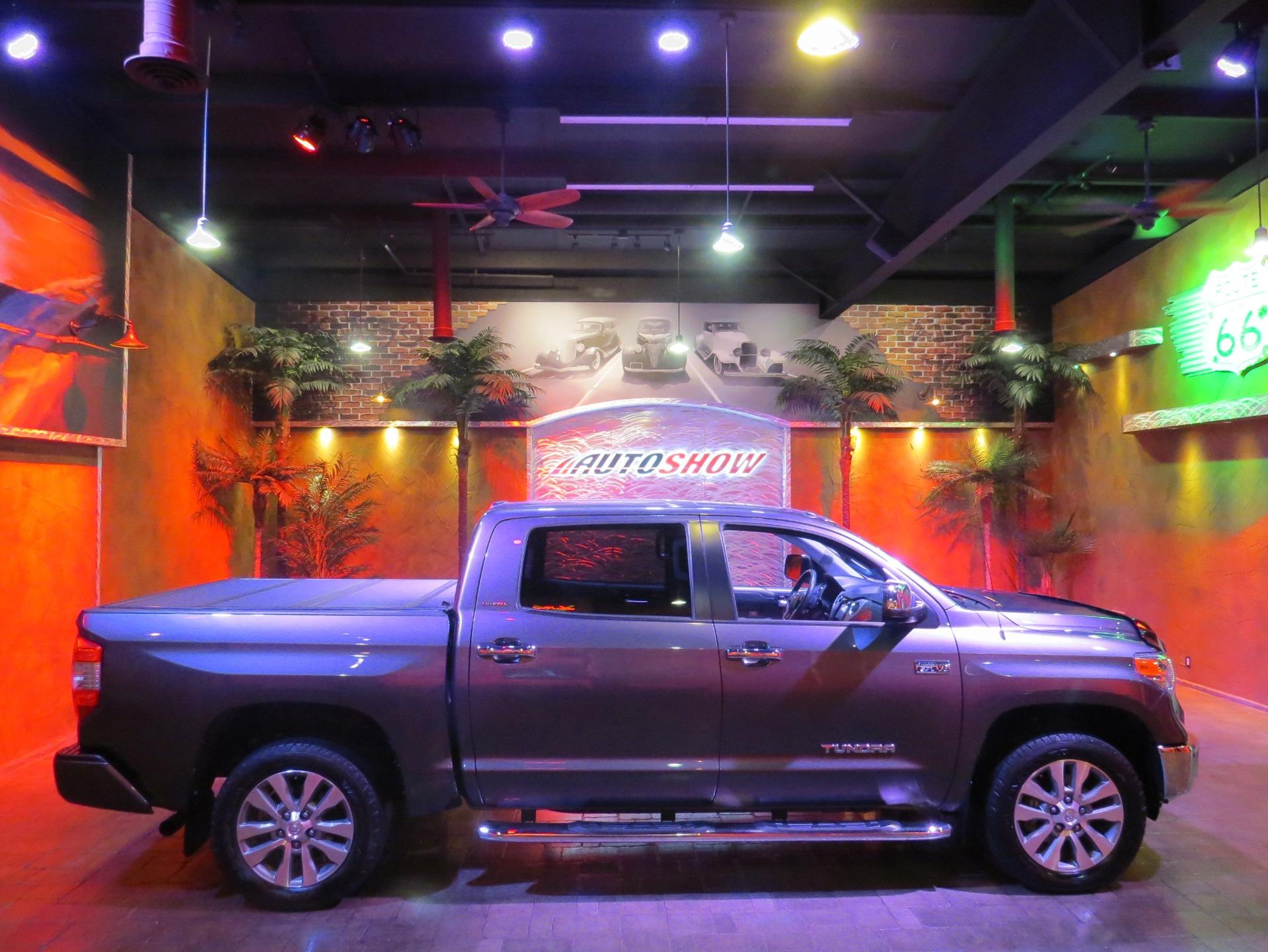 Used 2017 Toyota Tundra Limited Ed. CrewMax!  Nav & S.Roof!! for sale $44,800 at Auto Show Sales and Finance in Winnipeg MB R3Y 1G5 1