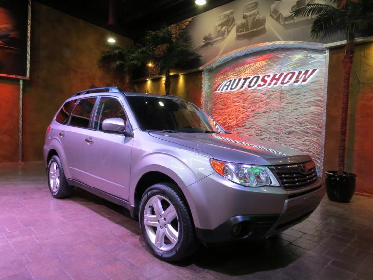 Used 2009 Subaru Forester 2.5X Limited - LOW K!  Pano Roof & Htd Lthr!! for sale $16,800 at Auto Show Sales and Finance in Winnipeg MB R3Y 1G5 2