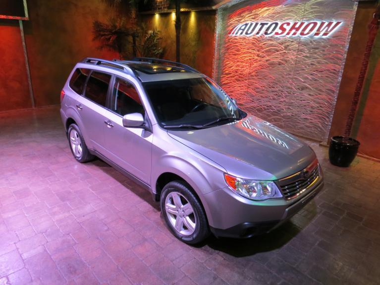 Used 2009 Subaru Forester 2.5X Limited - LOW K!  Pano Roof & Htd Lthr!! for sale $16,800 at Auto Show Sales and Finance in Winnipeg MB