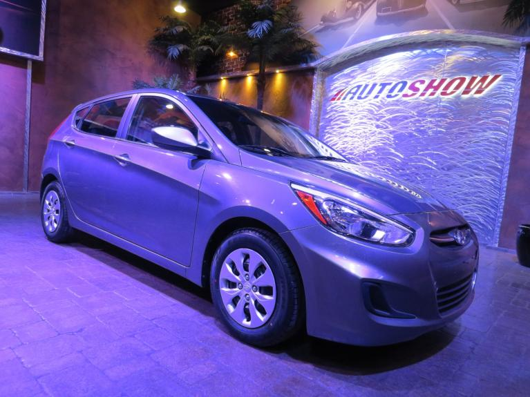 Used 2017 Hyundai Accent Low K Hatch!  Great Shape!! for sale Sold at Auto Show Sales and Finance in Winnipeg MB R3Y 1G5 2