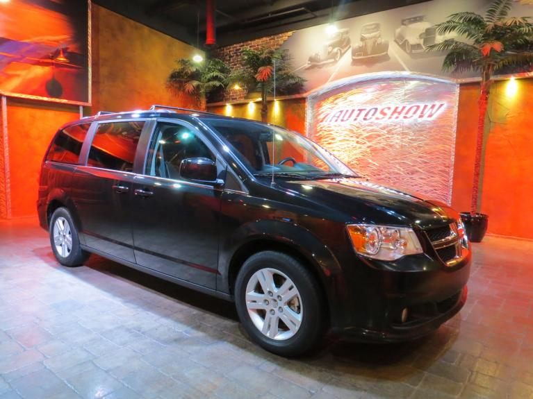 Used 2018 Dodge Grand Caravan Crew+ w/ Nav, Htd Lthr & Pwr Sldrs! for sale $23,990 at Auto Show Sales and Finance in Winnipeg MB R3Y 1G5 2