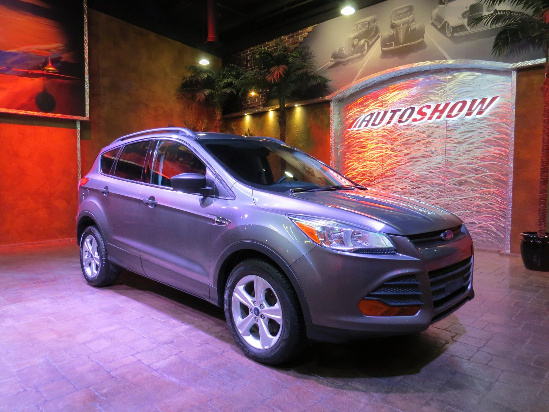 Used 2014 Ford Escape Low K!  Bluetooth & B.Up Cam!! for sale $16,800 at Auto Show Sales and Finance in Winnipeg MB R3Y 1G5 1