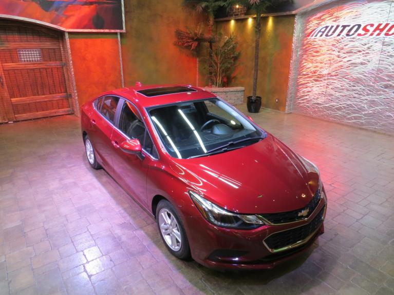 Used 2016 Chevrolet Cruze 1LT - Htd Seats, S.Roof, B.Up Cam, Bose!! for sale $13,900 at Auto Show Sales and Finance in Winnipeg MB
