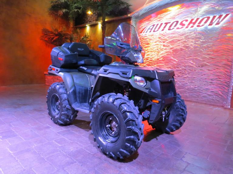 Used 2013 Polaris Sportsman 500HO 4x4 w/ Bronco Bucket, Winch & Tow Pkg! for sale $4,995 at Auto Show Sales and Finance in Winnipeg MB
