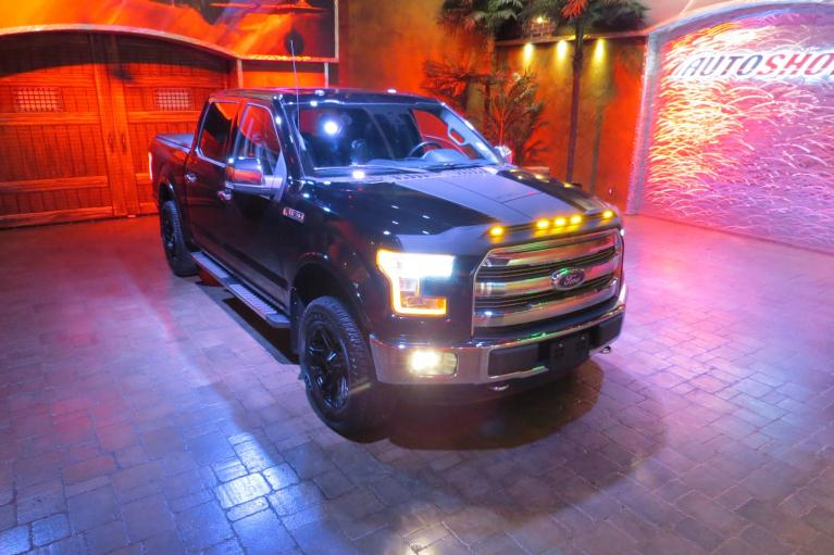 Used 2016 Ford F-150 Lifted Lariat 5.0L - Pano Roof & Nav!! for sale Sold at Auto Show Sales and Finance in Winnipeg MB R3Y 1G5 2