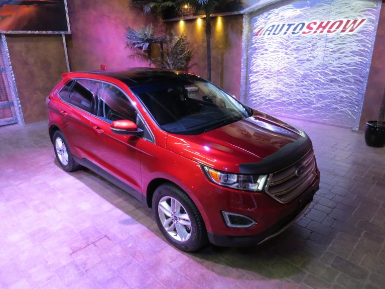 Used 2018 Ford Edge SEL AWD - Nav, Pano Roof, Htd Lthr!! for sale $29,997 at Auto Show Sales and Finance in Winnipeg MB