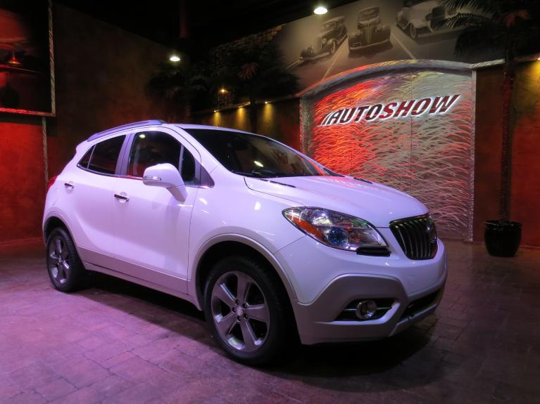 Used 2014 Buick Encore AWD - Bose, B.Tooth, R.Start, B.Up Cam!! for sale $15,800 at Auto Show Sales and Finance in Winnipeg MB