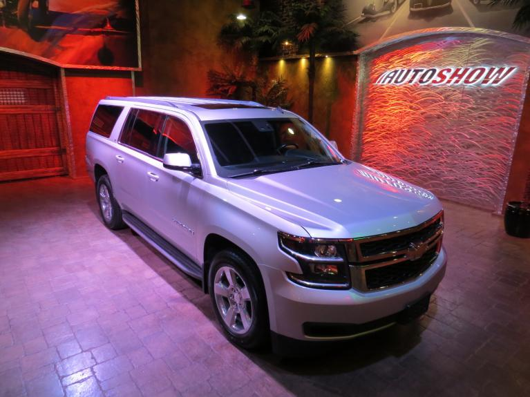 Used 2015 Chevrolet Suburban Loaded LT 4x4!  Htd Lthr & S.Roof!! for sale $38,800 at Auto Show Sales and Finance in Winnipeg MB R3Y 1G5 2