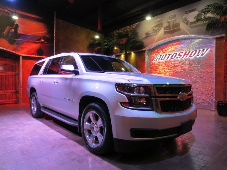 Used 2015 Chevrolet Suburban Loaded LT 4x4!  Htd Lthr & S.Roof!! for sale $38,800 at Auto Show Sales and Finance in Winnipeg MB