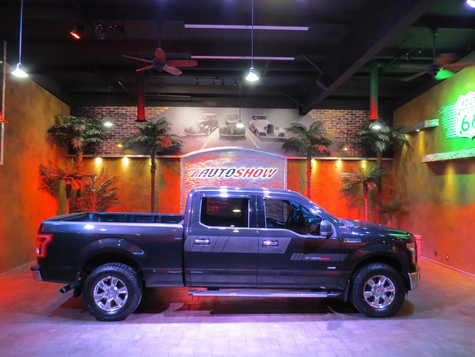 Used 2015 Ford F-150 XLT *** SUPERCREW-6.5 BOX!! *** for sale $25,800 at Auto Show Sales and Finance in Winnipeg MB R3Y 1G5 1