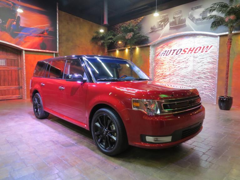 Used 2019 Ford Flex SEL AWD - Pano Roof, Htd Lthr, Nav! for sale $32,800 at Auto Show Sales and Finance in Winnipeg MB R3Y 1G5 2