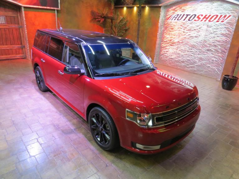 Used 2019 Ford Flex SEL AWD - Pano Roof, Htd Lthr, Nav! for sale $32,800 at Auto Show Sales and Finance in Winnipeg MB