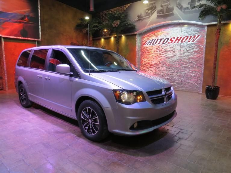 Used 2019 Dodge Grand Caravan GT - Pwr Sldrs, Htd Lthr & B.Up Cam! for sale $25,975 at Auto Show Sales and Finance in Winnipeg MB