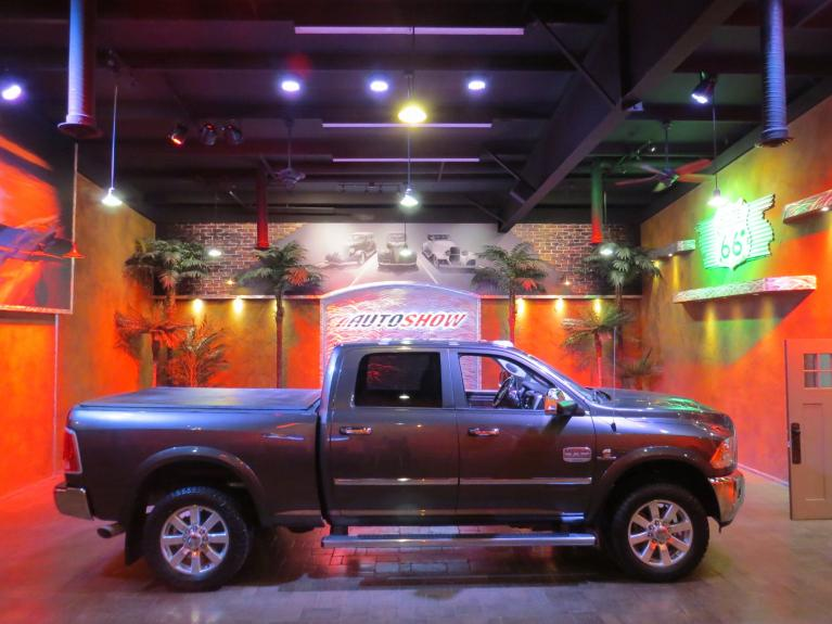 Used 2016 Ram 2500 Laramie Longhorn Cummins w/ S.Roof & Nav! for sale $59,800 at Auto Show Sales and Finance in Winnipeg MB