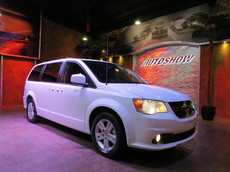Used 2018 Dodge Grand Caravan Crew+ w/ Nav, Htd Steering & Lthr!! for sale $24,288 at Auto Show Sales and Finance in Winnipeg MB R3Y 1G5 1