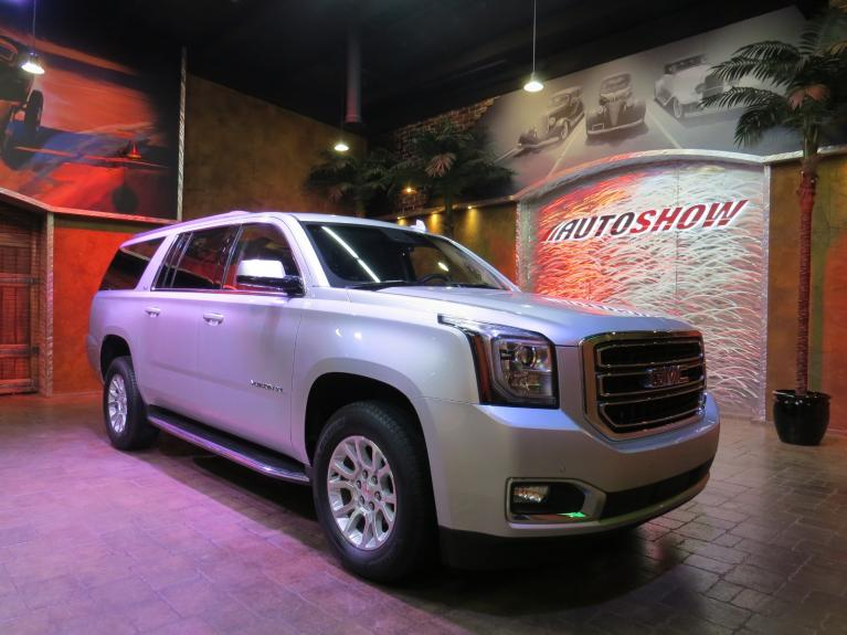 Used 2018 GMC Yukon XL SLT - DVD x2, S.Roof, Nav, Htd Lthr!! for sale $54,800 at Auto Show Sales and Finance in Winnipeg MB R3Y 1G5 2