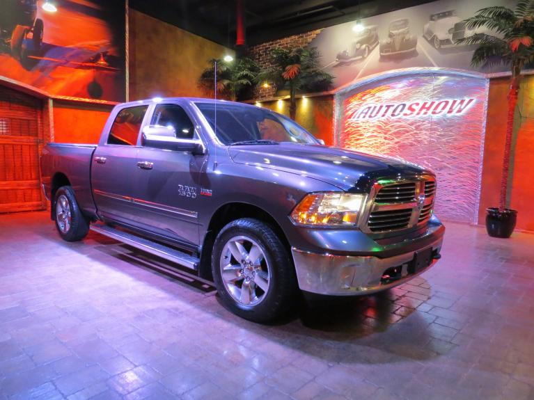 Used 2014 Ram 1500 Big Horn Hemi - Nav, R.Start, Htd Wheel & Seats for sale $26,800 at Auto Show Sales and Finance in Winnipeg MB