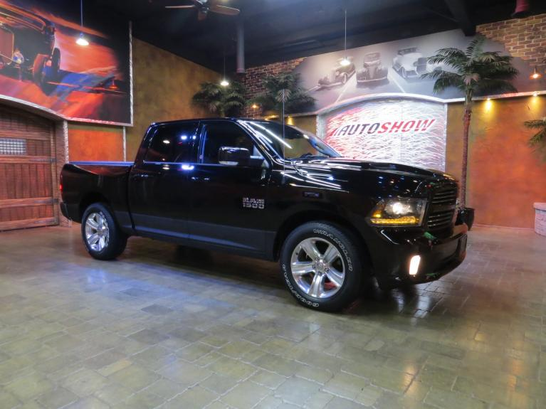 Used 2014 Ram 1500 Hemi Sport - S.Roof, Nav, R.Start, Htd Lthr! for sale $28,800 at Auto Show Sales and Finance in Winnipeg MB