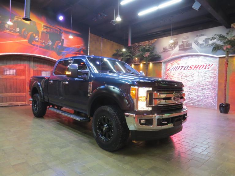 Used 2017 Ford Super Duty F-250 SRW 4WD Crew - Big Screen & Big Upgrades!! for sale $41,600 at Auto Show Sales and Finance in Winnipeg MB