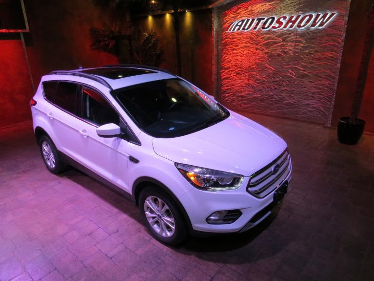 Used 2018 Ford Escape SEL 4WD - Pano Roof, Nav, Htd Lthr!! for sale $24,900 at Auto Show Sales and Finance in Winnipeg MB
