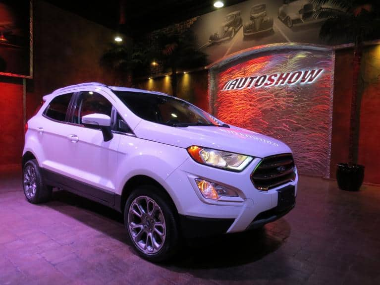 Used 2018 Ford EcoSport Titanium 4WD - S.Roof, Htd Lthr, Nav!! for sale $21,499 at Auto Show Sales and Finance in Winnipeg MB R3Y 1G5 2