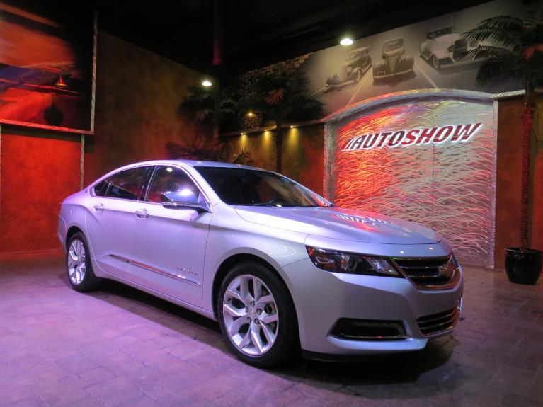 Used 2019 Chevrolet Impala Premier - S.Roof, Nav, R.Start, Htd Lthr! for sale $26,400 at Auto Show Sales and Finance in Winnipeg MB R3Y 1G5 2