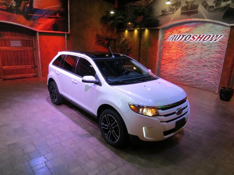 Used 2014 Ford Edge Sport 4WD - Pano Roof, Nav & Htd Lthr for sale $23,866 at Auto Show Sales and Finance in Winnipeg MB