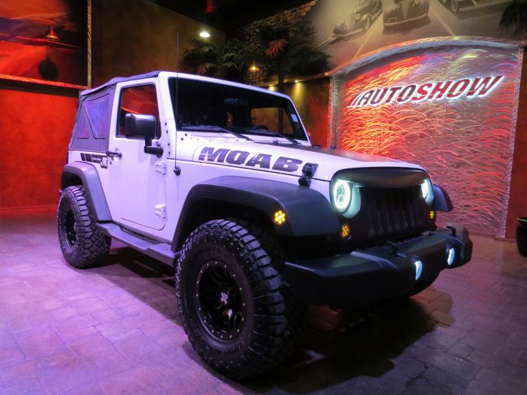 Used 2015 Jeep Wrangler ** CUSTOM MOAB M/T WRANGLER!!! ** for sale $22,585 at Auto Show Sales and Finance in Winnipeg MB