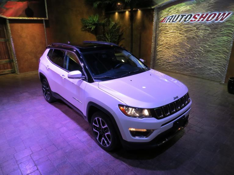 Used 2019 Jeep Compass 4WD Limited - Pano Roof, Nav, Htd Lthr! for sale $31,895 at Auto Show Sales and Finance in Winnipeg MB R3Y 1G5 2